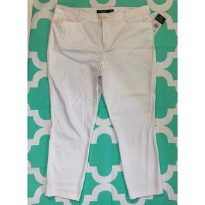 Lauren Ralph Lauren Pants White Stretch Skinny
